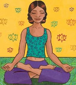 lotus pose  rexburg yoga