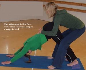 prom  ankle dorsiflexion and down dog  rexburg yoga